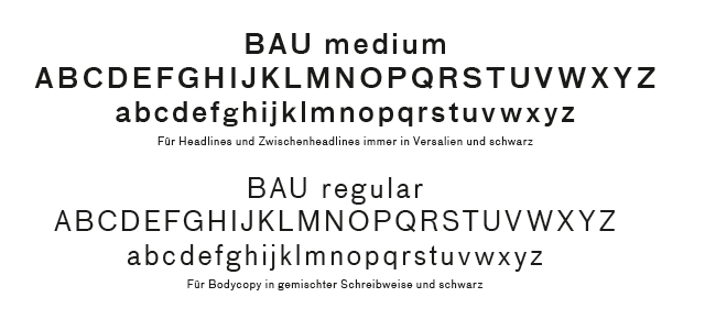 Corporate Design Typo zur Vermarktung des Wohnquartier Rhein Sieben