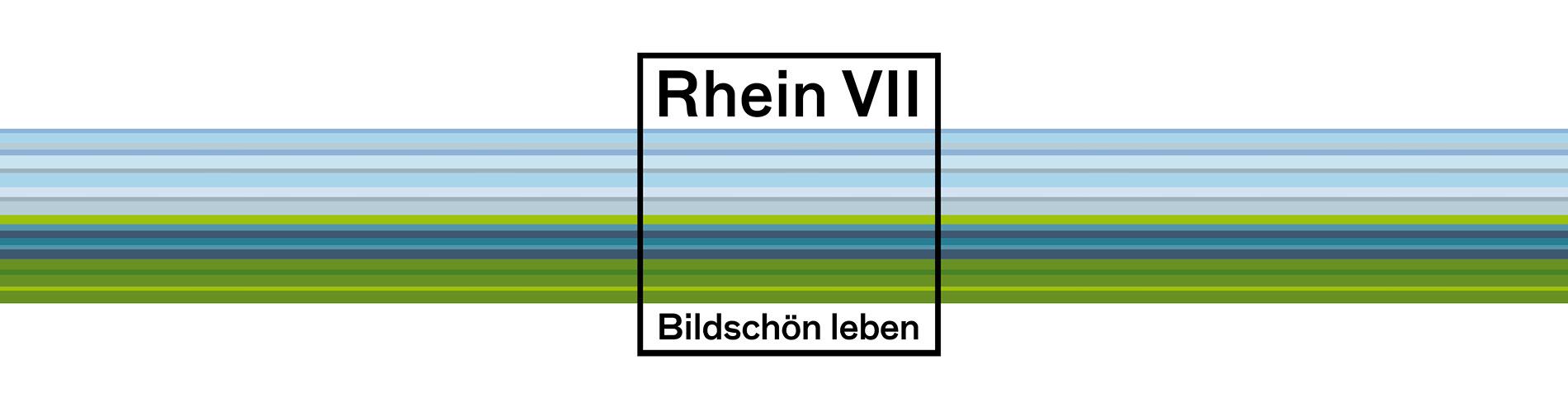 Corporate Design für das Standortmarketingkonzept für das Wohnquartier Rhein VII in Düsseldorf