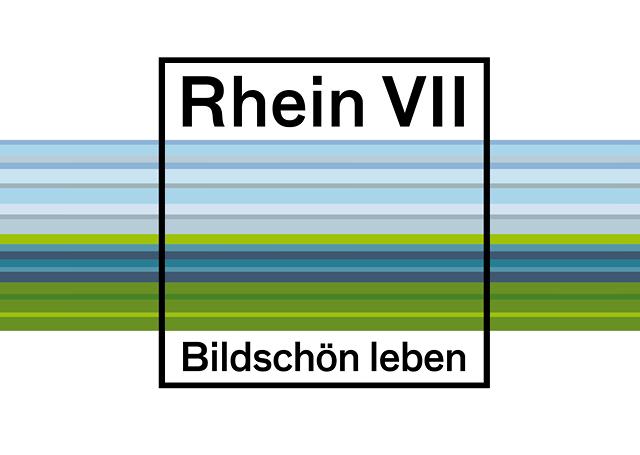 Branding Logoentwicklung für das Standortmarketingkonzept für das Wohnquartier Rhein VII in Düsseldorf