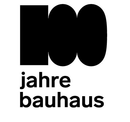 Logoentwicklung im Rahmen der Imagekampagne 100 jahre bauhaus im westen